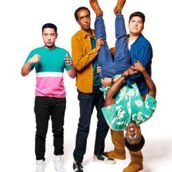 Tallboyz cast posing