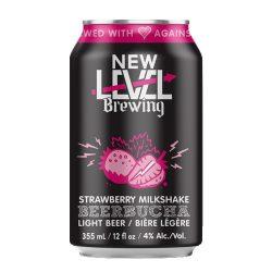 Strawberry Milkshake Beerbucha