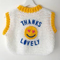 Thanks Lovely sweater vest
