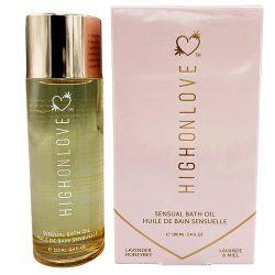 High on Love Sensual Bath Oil