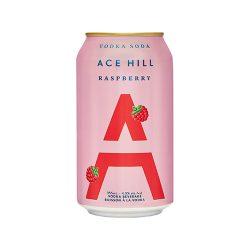 Can of Raspberry Vodka Soda