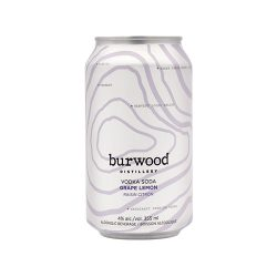 Can of Grape Lemon Vodka Soda