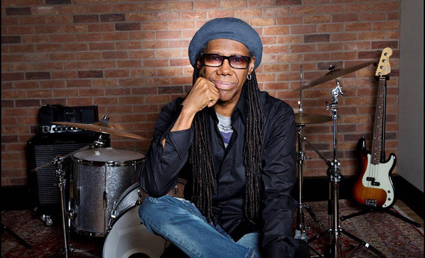 Nile Rodgers posing
