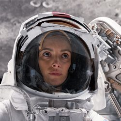 Screenshot of astronaut from For All Mankind