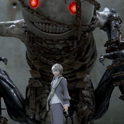 Screenshot of characters from NieR Gestalt