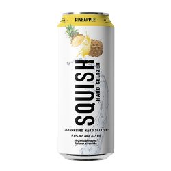 Can of Squish Hard Pineapple Seltzer