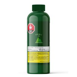Bottle of Summit THC Citrus Water