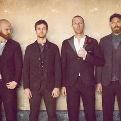 Coldplay posing