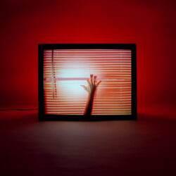 CHVRCHES' album cover for Screen Violence