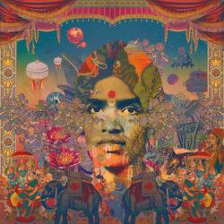 Shan Vincent De Paul's album cover art for Made In Jaffna