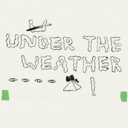 Homeshake's album cover art for Under the Weather