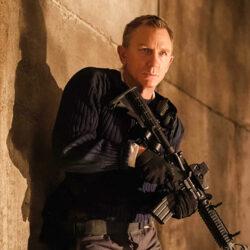 Daniel Craig in the James Bond film No Time To Die